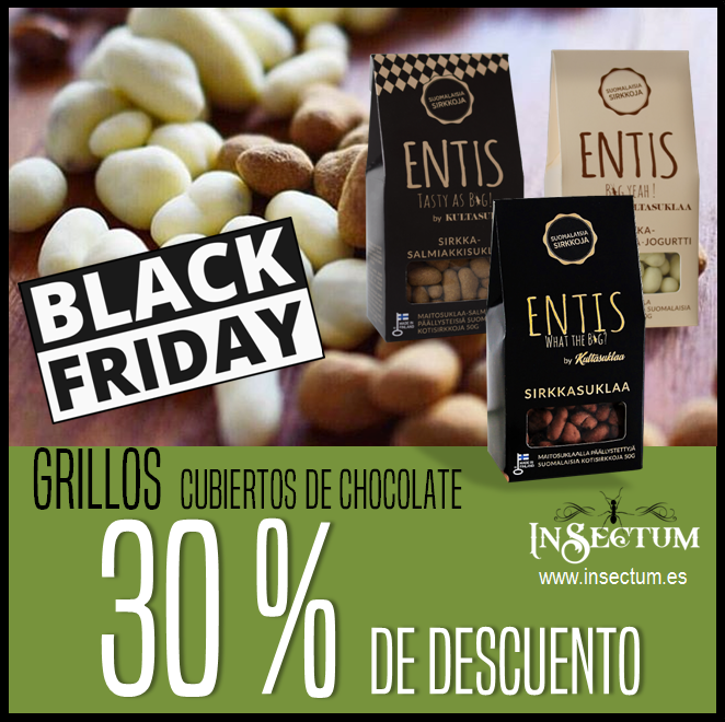 Grillos chocolate black friday